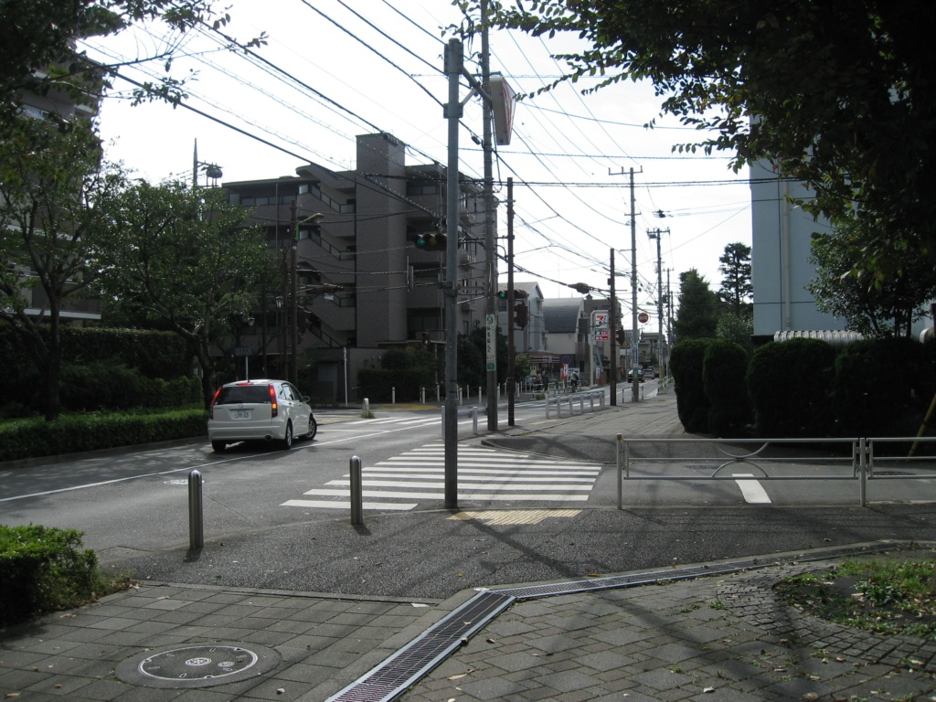 Street in front of the international house
