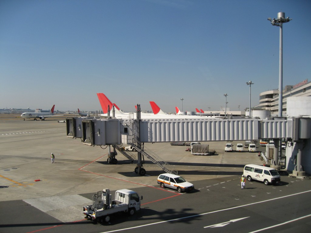 Lots of JAL planes