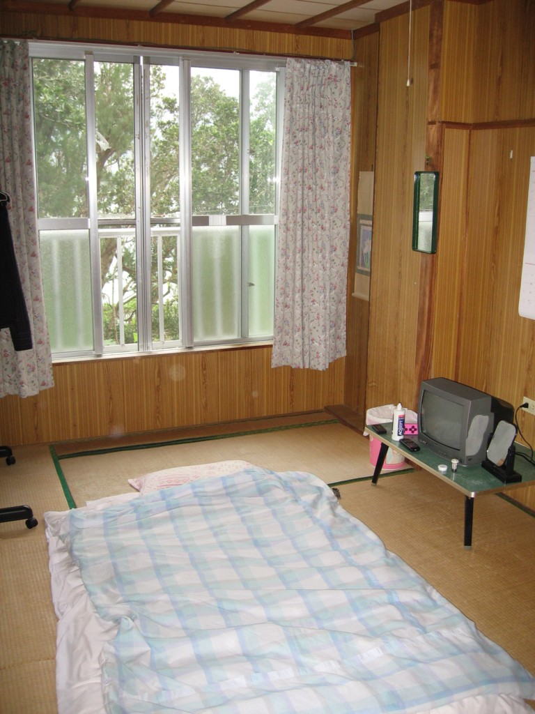 "My room in minshuku ""Koen Chaya"""